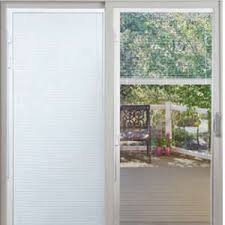 patio doors with built in blinds