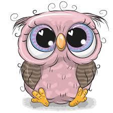 cute cartoon owl vectors design
