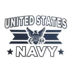 Navy Logo Decal