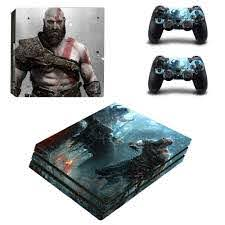 God Of War Ps4 Pro Skin Sticker For Sony Playstation 4 Console And 2 Controllers Ps4 Pro Stickers Decal Vinyl God Sticker God Of Wargod Of War Ps4 Aliexpress