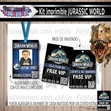 Kit Imprimible Personalizado Jurassic World Cumpleanos 220 00