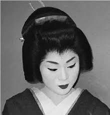 traditional geisha appice cosmetics