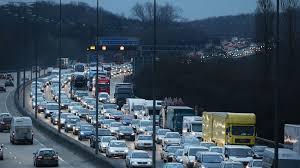 easter getaway traffic the busiest uk