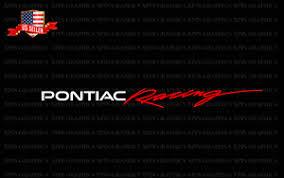 Pontiac Racing Windshield Vinyl Banner 2 Color Window Decal Sticker Graphic Ebay