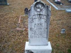 Addie Johnson (1885-1936) - Find A Grave Memorial