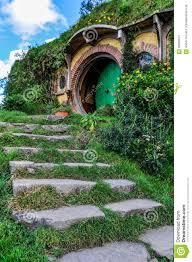 Casa Di Bilbo Baggins In Hobbiton, Matamata, Nuova Zelanda ...
