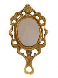 mirror decorative vintage style oval