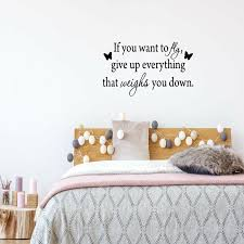 Winston Porter Dowden If You Want To Fly Give Up Everything That Weighs You Down Wall Decal Wayfair