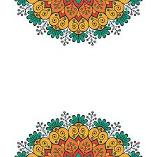 Festival Mandala Patterns Vector Background Pattern Mandala