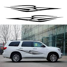 2 X Simple Abstract Striped Decorative Art Branch Spears Life Car Sticker For Suv Camper Van Car Styling Vinyl Decal Wish