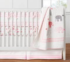 harper elephant crib bedding set