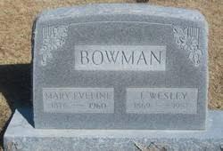 James Wesley Bowman (1869-1957) - Find A Grave Memorial