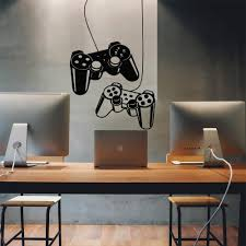 Hot Discount 9dbfb New Game Gamepad Vinyl Wall Sticker Decals For Kids Room Decoration Nursery Boys Gaming Room Decor Stickers Decals Poster Cicig Co