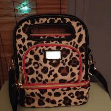 Betsey Johnson Bags | Bessie Johnson Crossover Lunch Bag Like New ...