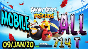 Angry Birds Friends 2020 Tournament T714 On Now!
