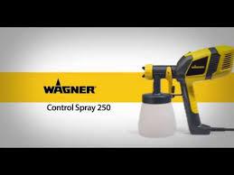 Wagner Control Spray 250 Setup Youtube