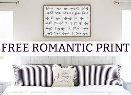 romantic wall art free romantic quote