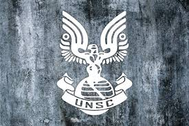 Unsc Vinyl Decal Etsy