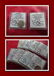 personalised wedding sixpence coin gift
