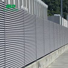 Adjustable Fence Panels Louver Aluminium Slat Fence View Aluminum Louvre Fence Panel Bld Product Details From Ballede Shanghai Metal Products Co Ltd On Alibaba Com