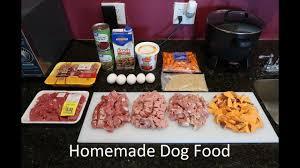 easy home made dog food recipe