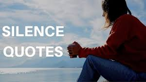 silence quotes quotes about silence