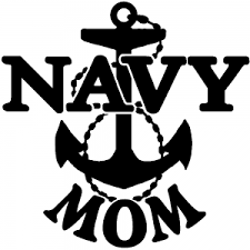 Navy Mom Car Or Truck Window Decal Sticker Rad Dezigns