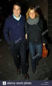 Marco Tardelli e sua moglie lasciando il ristorante Unicorno ...