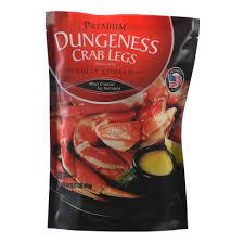 premium cooked dungeness crab legs 16