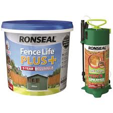 Ronseal Fencelife Plus 5 Litre Precision Finish Fence Paint Sprayer Fence Shed Topline Ie