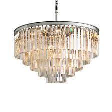 rh crystal luxury suspension lamp large