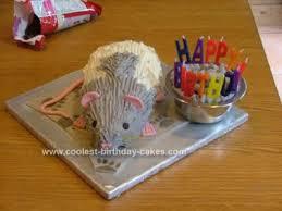 coolest rat birthday cake