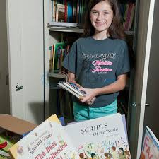 Bookworm: Girl collects, donates 2,000 books | Family | tylerpaper.com