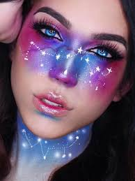 galaxy makeup for