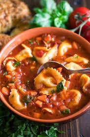 Easy Tortellini Soup (Vegetarian ...