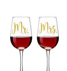 Decor Decals Stickers Vinyl Art Mr Mrs Wine Glass Jar Wedding Decal Stickers Engagement Party Present Decor Home Garden Stickers
