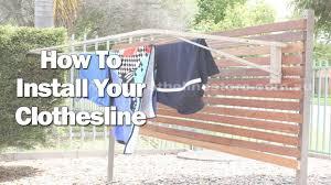 city living folding clothes line