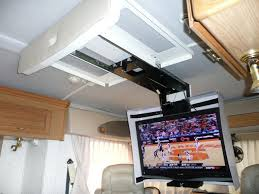 rv now big screen tv in a small rv no