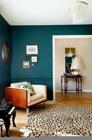 use bold paint colors in your living room