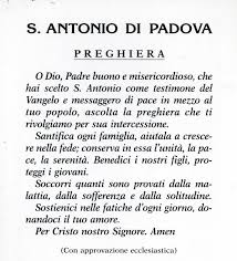 leggoerifletto: Motto di Sant'Antonio da Padova -