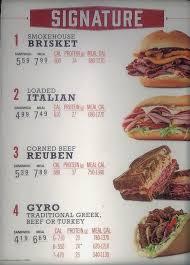 arby s menu slc menu