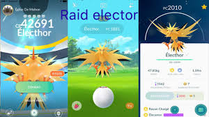 Pokémon GO # Raid elector shiny? - YouTube