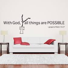 With God All Things Are Possible Style And Apply