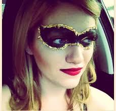 makeup masquerade mask by jennifer