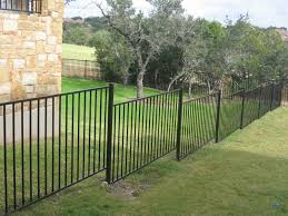 Fence On Slope Ideas Austex Fence And Deck