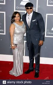 Simone Smith and LL Cool J The 53rd Annual GRAMMY Awards at the ...