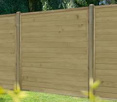 Forest Horizontal Tongue And Groove 6 X 5 Ft Fence Panel Gardensite Co Uk