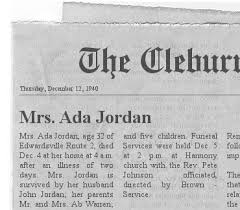 Family Circus : Jordan/Warren Newspaper Obits
