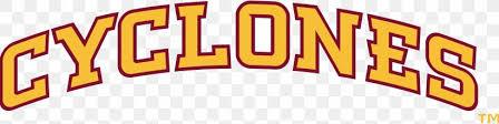 Iowa State University Iowa State Cyclones Football Car Logo Decal Png 2146x540px Iowa State University Brand