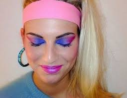 80s prom makeup